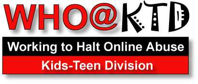 Working to Halt Online Abuse Kid Teen Division logo